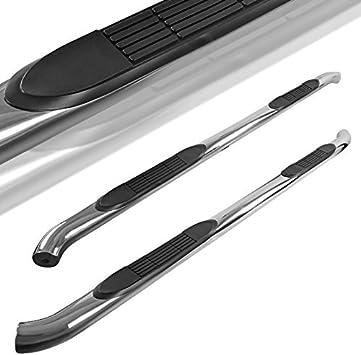 Spec-D Tuning For Honda Ridgeline Pickup Chrome Polished 3 Side Step Nerf Bars Running Boards
