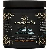 Era Organics Dead Sea Mud Mask with Organic Aloe Vera, Shea Butter, Manuka Honey & Hemp Oil - Spa Quality Face Mask to Cleanse, Moisturize & Exfoliate