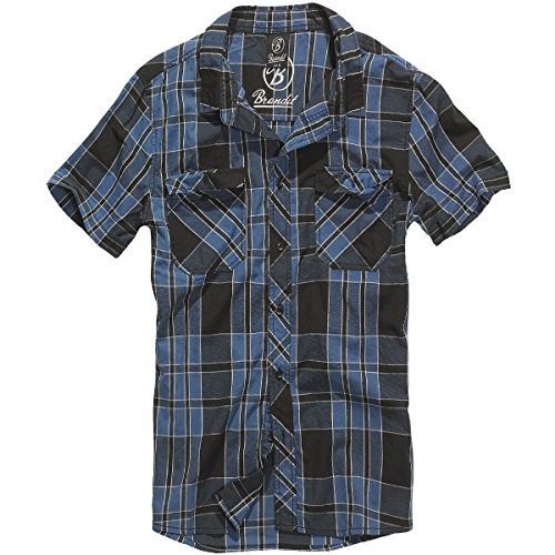 Brandit Hommes Roadstar Shirt Indigo