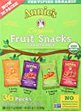 Annie's Homegrown Organic Vegan Fruit Snacks Variety Pack 36 Pouches - .8 Oz. Each