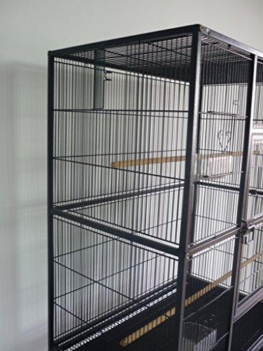 Everila Yft32 New Bird Parrot Cage 30 Quot X18 Quot X63 Quot 1 2 Quot Bar