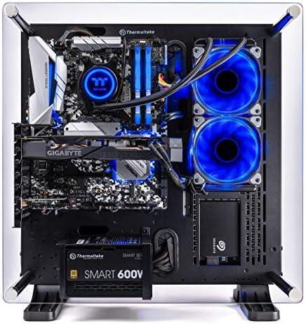 Thermaltake LCGS Shadow III AIO Liquid Cooled CPU Gaming PC (AMD RYZEN 5 3600 6-core, ToughRam DDR4 3200Mhz 16GB RGB Memory, RTX 2060 Super 8GB, 1TB SATA III, WiFi,Win 10 Home) P3BK-B450-STL-LCS, 51Baw6r601L