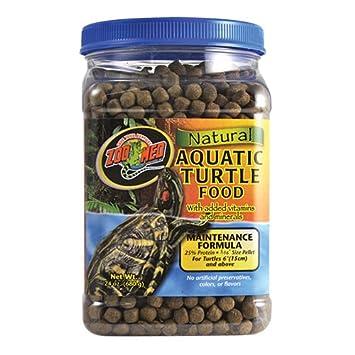 Zoo Med Natural Aquatic Turtle Food, Maintenance Formula, 680.39gm ZM112