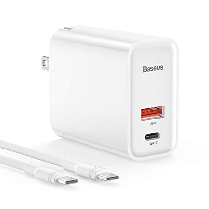Amazon.com: USB C Wall Charger with USB C Cable 3.3FT ...