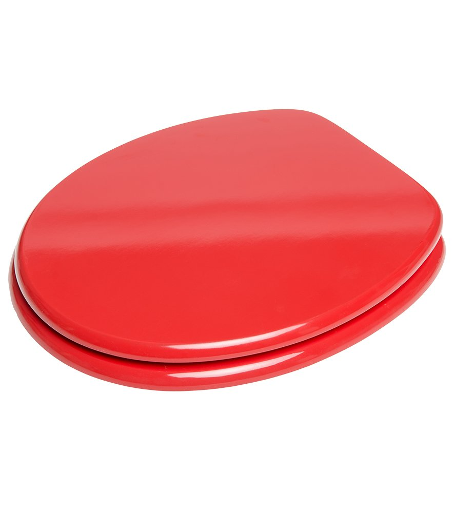 Abattant WC frein de chute soft close Rouge Grande s/élection de abattants wc unis Finition de haute qualit/é