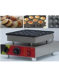 Boshi Electronic Instrument NP 542 110V 220V 25 Pieces Electric Poffertjes Grill Machine Waffle Machine Waffeleisen CE Certification
