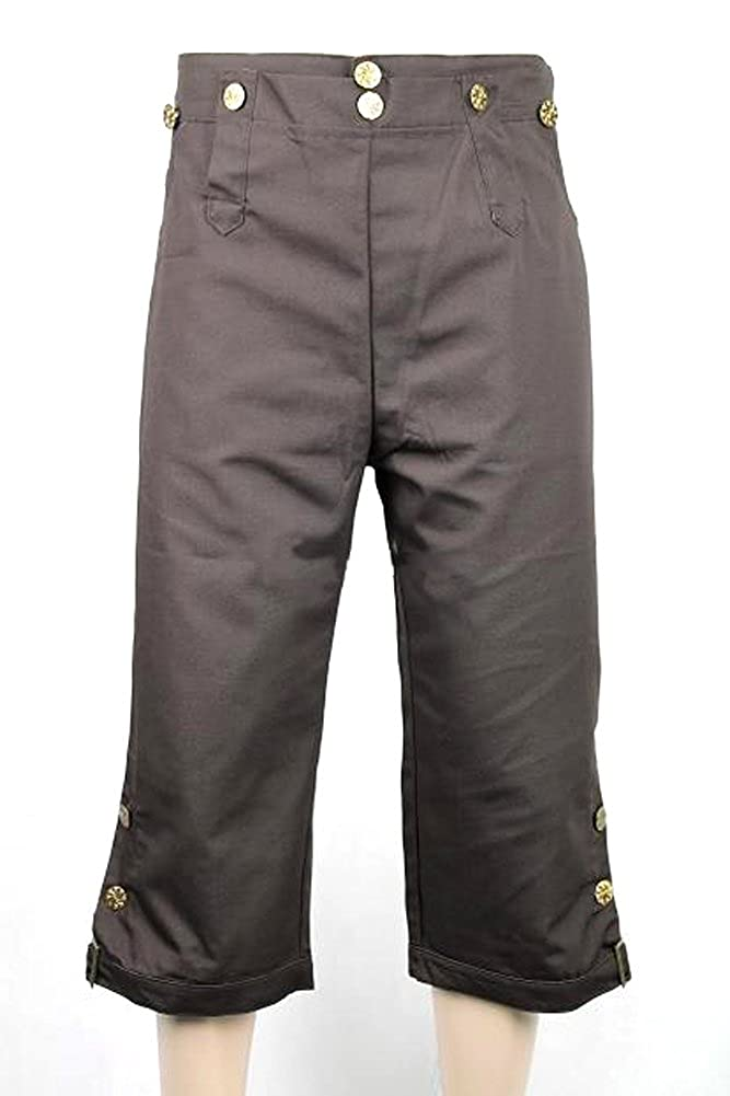 Deluxe Adult Costumes - Jack Sparrow pirate choice brown breeches