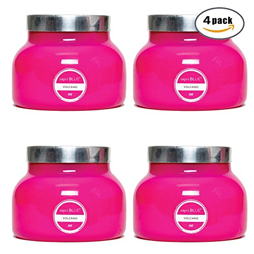 19 oz Capri Pink Signature Jar Volcano (4 pack) by Capri Blue