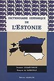 Dictionnaire historique de l'Estonie