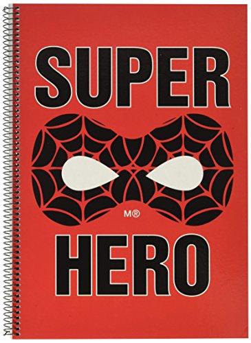 Miquelrius 47067 Notebook   Spider Web Folio Superkids