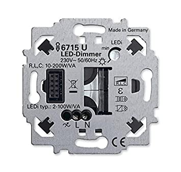 Busch Jaeger Led Dimmer Einsatz 6715 U Zigbee Light Amazon De
