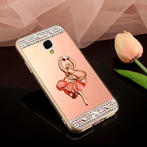 Galaxy S4 Case,Galaxy S4 Mirror Case,Glitter