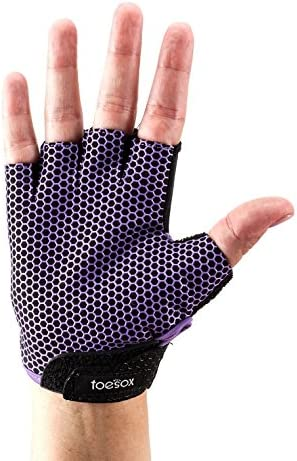 Fitness Mad Toesox Glove Yoga & Pilates Grip Guante, Unisex Adulto ...