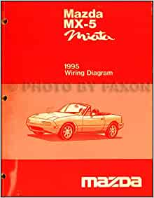 1995 Mazda MX-5 Miata Electrical Wiring Diagram Original ...
