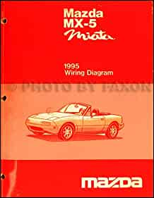 1995 mazda mx 5 miata electrical wiring diagram original