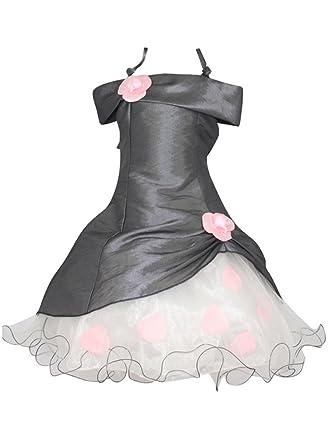 Robe mariee rose et gris