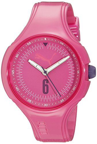 [PUMA Women's PU911201007 Wave - Pink Analog Display Quartz Watch] (Puma New Wave)