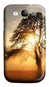 Fog across the field Polycarbonate Hard Case Cover for Samsung Galaxy S3 / SIII / I9300