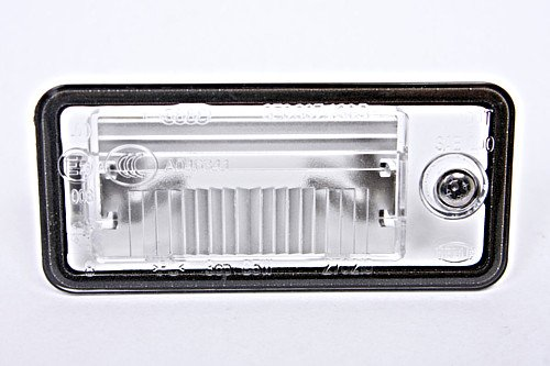 Genuine License Plate Light Lens RH Audi A3 A4 B6 B7 A5 A6 C6 A8 D3 Q7 RS4 2001-