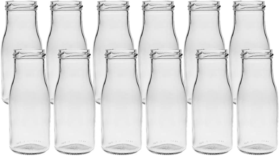 6/12/24 unidades redondas de tipo 156. Mini jarrones de cristal pequeños frascos decorativos, jarrones de cristal, botellas de cristal, 24 unidades
