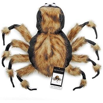 "Zack & Zoey Fuzzy Tarantula Costume for Dogs, 16"" Medium"