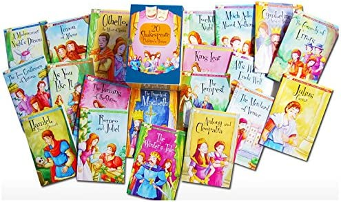 Twenty Shakespeare Childrens Stories The Complete 20 Books Boxed Collection: The Winters Take The Tempest Romeo and Juliet Hamlet Macbeth Much Ado About Nothing A Midsummer Nights Dream Twelfth Night and More