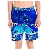 U-WARDROB Swim Trunks Quick Dry Casual Short--for Men Swimming,Traveling,Beach