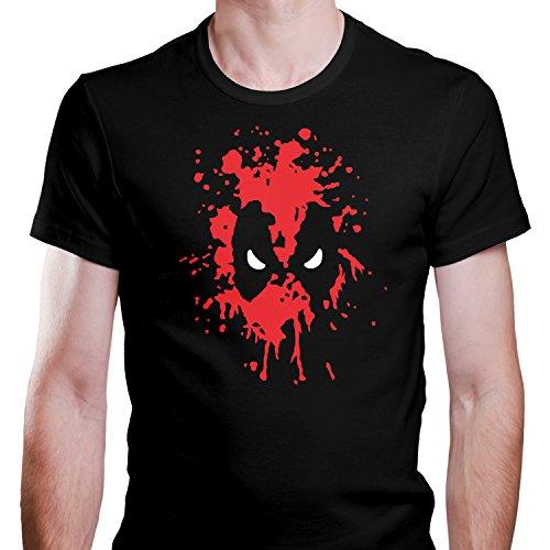 ZDesignONE Deadpool Comic Hero T-Shirt XS-4XL Edition 4