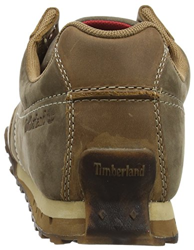 Timberland greeley Uomo Sneaker Low Leather Marrone Greeley rrBPgq1
