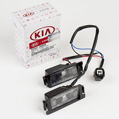 (Kia Genuine (92501-2K000) License Plate Lamp Assembly)