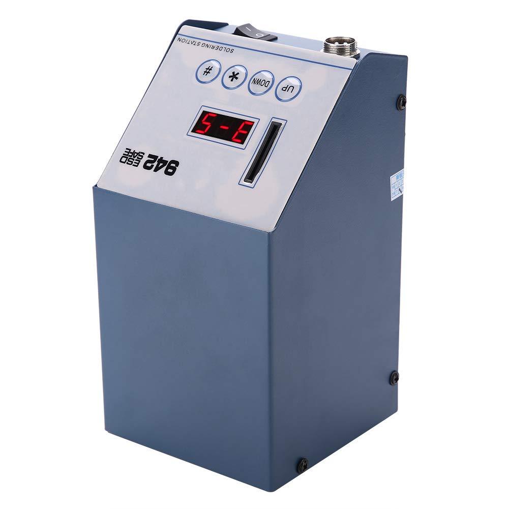 Cocoarm L/ötstation 90W Professionell Regelbar L/ötkolben Set SMD Rework L/ötset Station Digitale LED Temp Anzeige Temperaturkorrektur 200-450 ℃ f/ür Schule Labor Hobbyl/öten