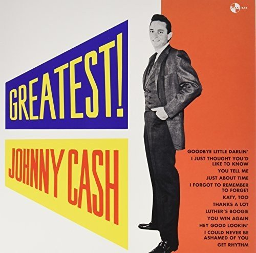 Vinilo : Johnny Cash - Greatest + 4 Bonus Tracks (Bonus Tracks, Limited Edition, 180 Gram Vinyl, Spain - Import)