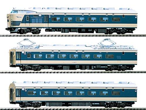 TOMIX HOゲージ 583系 特急寝台電車 クハネ581 4両 基本セット HO-018 鉄道模型 電車