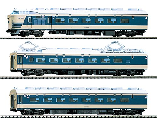 TOMIX HOゲージ 583系 特急寝台電車 クハネ581 4両 基本セット HO-018 鉄道模型 電車の商品画像
