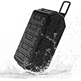 Esonstyle Waterproof IPX6 Portable Bluetooth Speaker 3W2 Stereo Hands Free Anti-dust,Anti-Drop Outdoor Tought Wireless Speaker Built in 2000mAh Rechargeable Battery