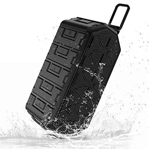 Check Out This Esonstyle Waterproof IPX6 Portable Bluetooth Speaker 3W2 Stereo Hands Free Anti-dust,...