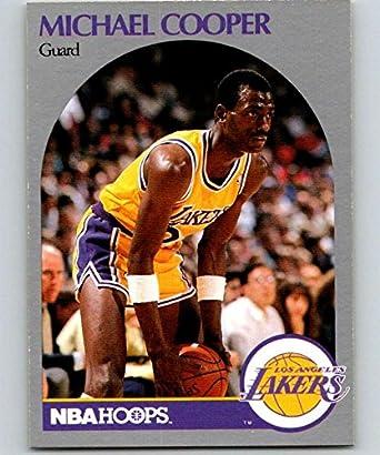 Amazon.com: 1990-91 Hoops #153 Michael Cooper SP Lakers NBA ...