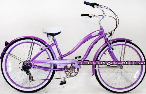 "Micargi Rover 7-speed 26"" for Women , Beach Cruiser Bike Sch"
