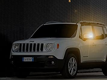 Jeep Renegade luces intermitente LED lateral espejo complemento: Amazon.es: Coche y moto