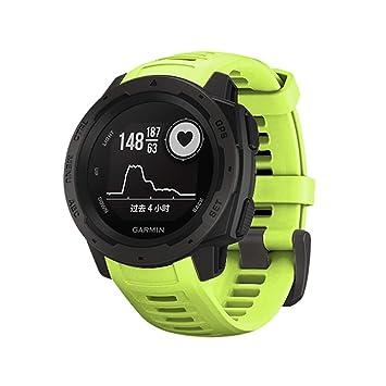 Garmin Instinct Correa, Zolimx Deportivos Silicona Equic Release Correa de Reloj de Repuesto para Garmin Instinct: Amazon.es: Deportes y aire libre