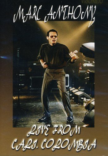 DVD : Marc Anthony - Live from Cali Colombia (Amaray Case)
