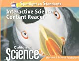 California Science Spotlight on Standards! Interactive Science Content Reader, HARCOURT SCHOOL PUBLISHERS, 0153653639