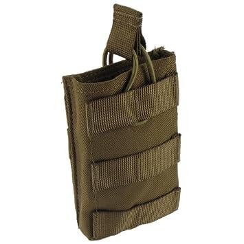 Pro-Force Solo M4 / M16 Cargador Bolsa MOLLE Coyote: Amazon ...