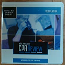 Bisk Education, CPA Review Regulation, Audio CD's for the CPA Exam, Audio Tutor Version 10.0 (Bisk Education CPA Review)
