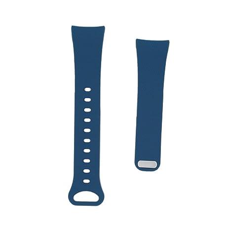 Gear FIT2 reloj banda pinhen suave silicona elastómero banda pulsera de plástico de repuesto para Samsung
