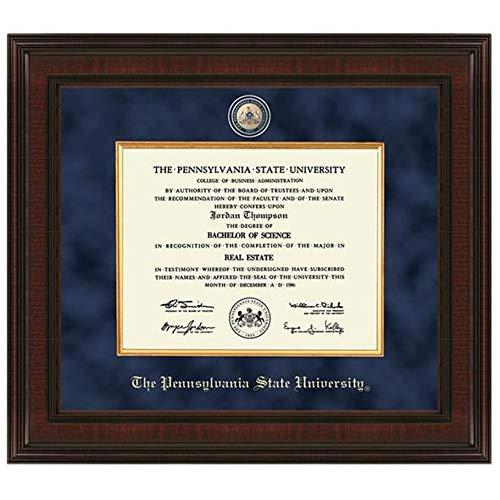 M. LA HART Penn State Excelsior Diploma Frame