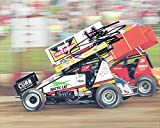 AUTOGRAPHED 2017 Tony Stewart #14 Rush Truck Center / Arctic Cat Racing SPRINT CAR DIRT TRACK Signed Collectible Picture NASCAR 8X10 Inch Glossy Photo with COA