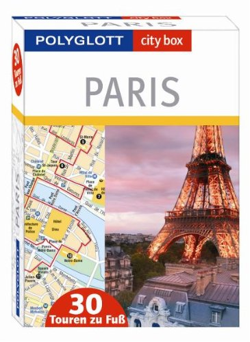 city box Paris - Box mit 30 Tourenkarten und Beiheft: Polyglott city box Paris