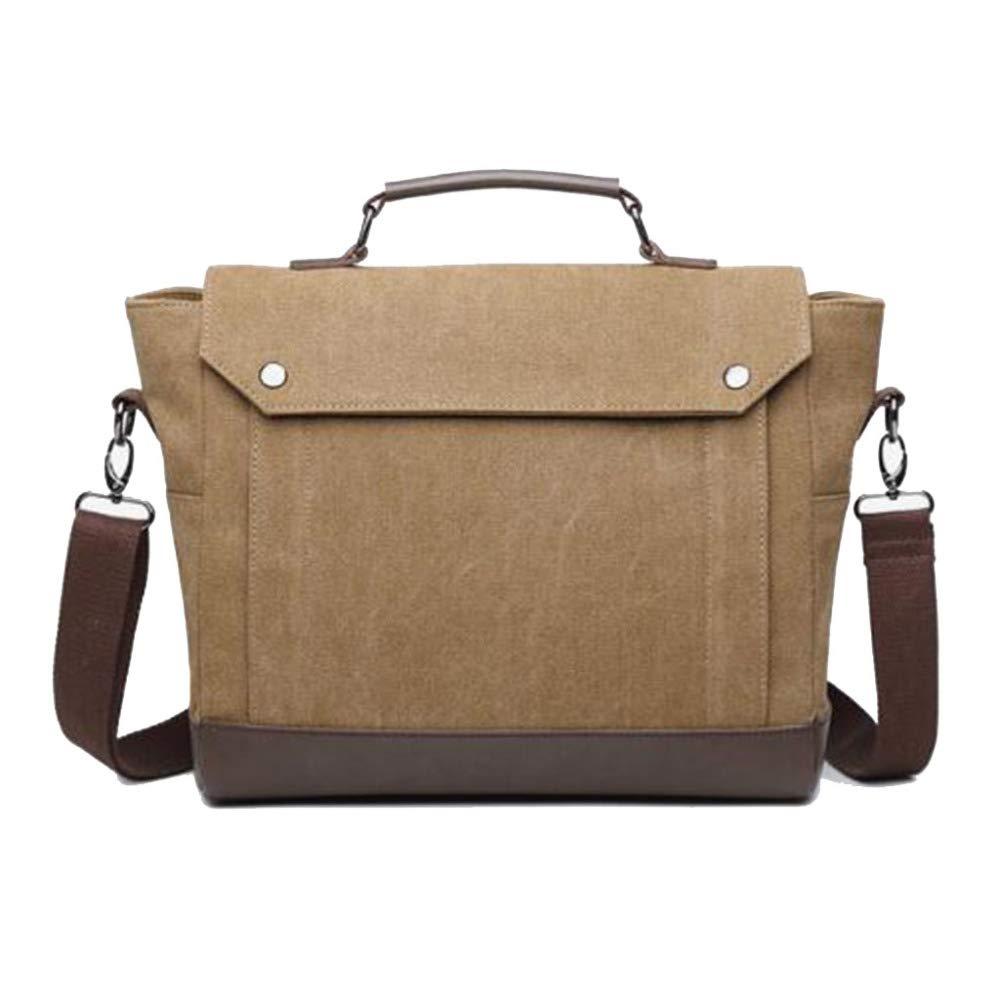 LEIU Herren Einzel Schulter Tasche Canvas High-End-Laptop Tasche Außenhandel Freizeit Kuriertaschen