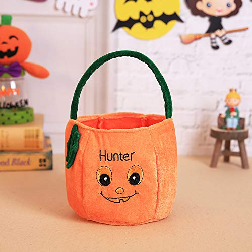 OYJJ Halloween Candy Bag Portable Pumpkin Bag Portable Bag Cosplay Gift-#4